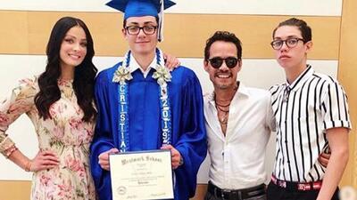 Dayanara Torres muestra los momentos memorables de la graduación de su hijo (donde Marc Anthony no podía faltar)