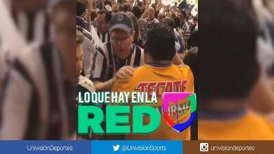 Tigre ejemplar: así felicitó a los aficionados de Rayados