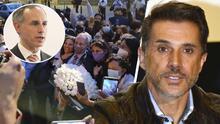 Sergio Mayer ataca a Hugo López Gatell tras despedirse con mariachi de su cargo como subsecretario de salud