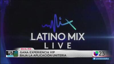 #EnElMix Podras ganar una experiencia VIP para Latino Mix Live