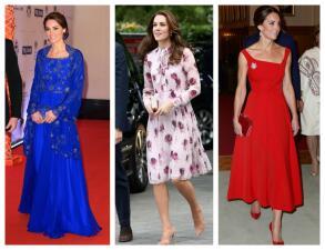 Los 50 mejores vestidos que usó Kate Middleton en 2016