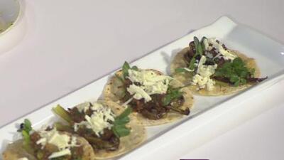 La receta: tacos de nopal