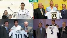 Zidane, Figo, Cristiano... el amo de los galácticos en Real Madrid