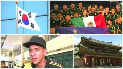 México llegó a Corea del Sur para afrontar la Copa Mundo Sub-20