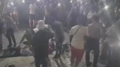 Revelan nuevas imágenes del accidente en el malecón de La Habana que deja varias personas muertas