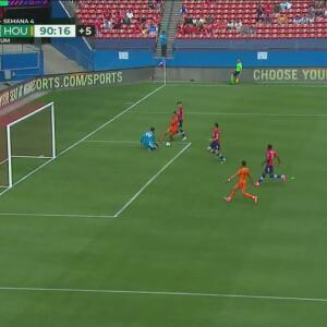 ¡Urruti estuvo cerca de marcar el del triunfo de último minuto!