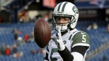 Exquarterback de Jets buscará cambiar de deporte