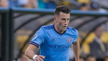 El Manchester City adquiere el pase de joven atacante de New York City FC en la MLS