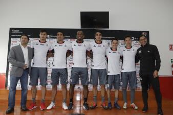 La presentación de refuerzos de Lobos BUAP para mantener la categoría en el Clausura 2019