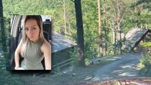 """""""Fui al lugar donde la asesinaron"""": Hermana de Rossana Delgado va a la cabaña donde hallaron el cuerpo"""