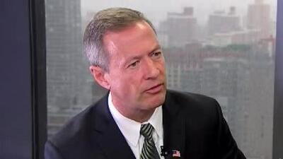Martin O'Malley: tenemos que sacar de las sombras a 11 millones de inmigrantes
