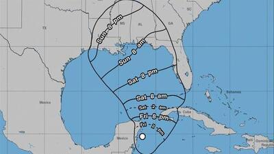 La tormenta subtropical Alberto generará fuertes lluvias y afectará a cinco estados de EEUU