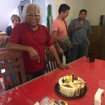 """<a href=""""https://www.jornada.com.mx/ultimas/2019/06/10/muere-pepe-bustos-fundador-y-vocalista-de-la-sonora-santanera-2704.html"""" target=""""_blank"""">La Jornada</a> informó que los restos de Pepe Bustos serán trasladados a un panteón ubicado en el municipio de Tlalnepantla, Estado de México."""