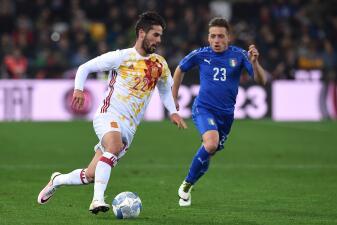 Las imágenes del Italia-España y los amistosos en Europa de la Fecha FIFA