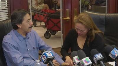 """""""Vi la escena más horrible que un padre puede ver"""": Rompen el silencio los padres de una de las víctimas del derrumbe de un puente en Miami"""