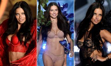 Adriana Lima es la reina de la pasarela