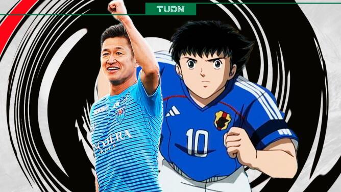Miura, futbolista que 'vacunó' al Tri, renovó contrato con 54 años