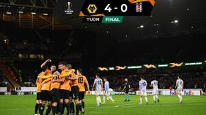 Wolverhampton, sin Raúl Jiménez, aplastó al Besiktas