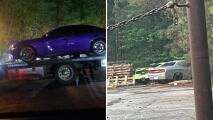 Redada por carreras callejeras deja 80 personas arrestadas y 45 carros incautados en metro Atlanta