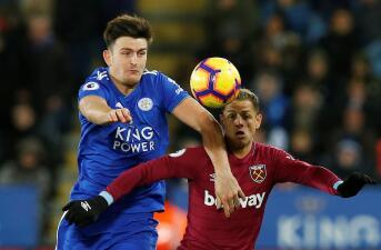 En fotos: 'Chicharito' y West Ham dejaron ir el triunfo en casa del Leicester