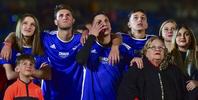 Pachuca venció a Cruz Azul en emotiva despedida del 'Chaco' Giménez
