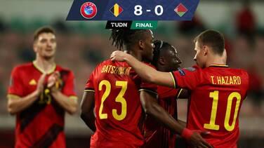 Con suplentes, Bélgica aplasta a Bielorrusia rumbo a Qatar 2022