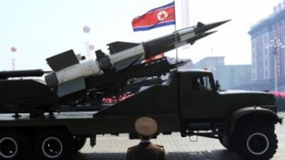Reportan desplazamiento de misiles en Corea del Norte