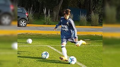 """Messi mexicano: """"Toda mi familia es argentina; mi sueño es vestir la camiseta albiceleste"""""""