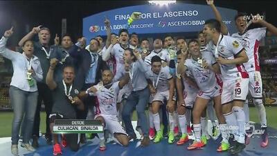 El festejo de los milagrosos Lobos BUAP, nuevo equipo de la Liga MX