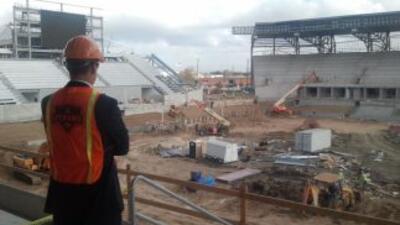 Te gustaría trabajar en el estadio del Dynamo?