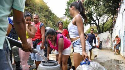Los venezolanos se quedan sin agua en medio del peor apagón de su historia