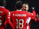 Andrés Guardado se reencuentra con el gol en triunfo del PSV
