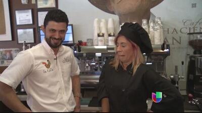 Daniel Rivera, campeón de Puerto Rico, muestra técnicas para convertirte en todo un barista