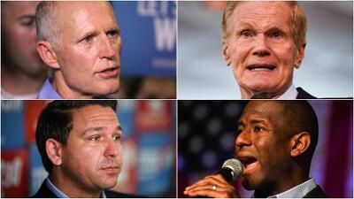 Aumenta la expectativa en Florida por demora en resultados de elecciones a gobernador y senado estatal