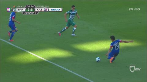 Cruz Azul se pierde la primera ocasión de gol