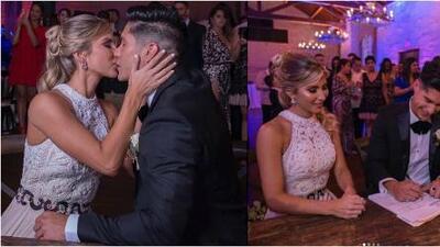 Con sorpresiva boda civil, Chyno Miranda dejó la soltería en la ciudad de Miami