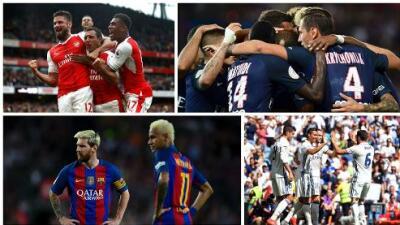 Los juegos imperdibles de la fase de grupos de la Champions League