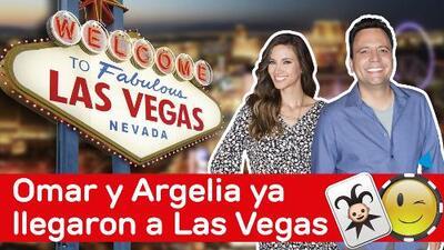 Omar y Argelia ¡Llegaron a Las Vegas!