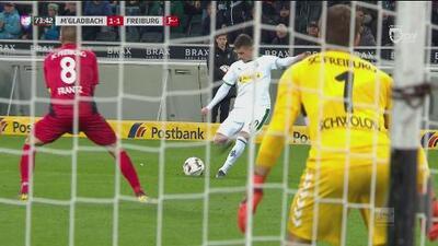 ¡Lo que te perdiste! Hazard tuvo el gol de la ventaja para el Gladbach