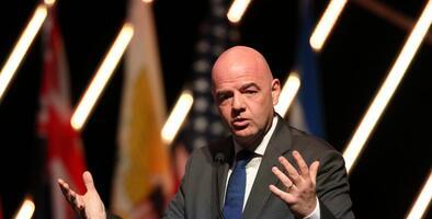 """Presidente de la FIFA: """"El racismo en el fútbol tiene que acabar. Punto final"""""""