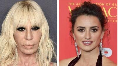 """Penélope Cruz siente """"amor y respeto"""" por Donatella Versace, hermana del asesinado diseñador"""