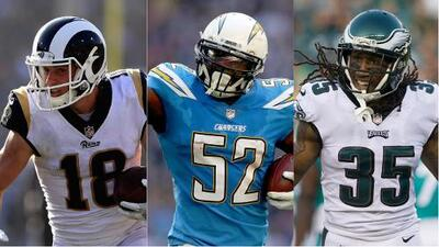 Lunes negro en la NFL: tres estrellas se perderán el resto de la temporada