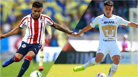 ¡Alineaciones confirmadas! Pumas y Chivas arrancarán con sorpresas en CU