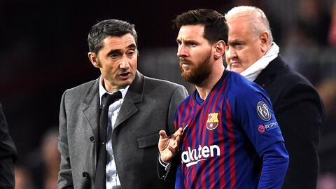 Valverde no guardaría a Messi para los duelos contra el Villarreal y el Atlético de Madrid