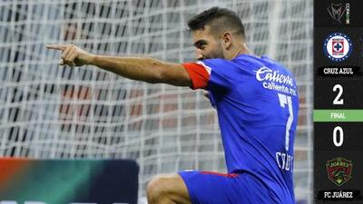 Cruz Azul lo resolvió con calma ante Juárez y se instaló en semifinales de la Copa MX