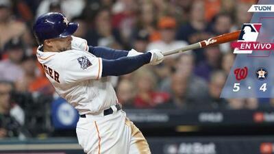 Serie Mundial, Juego 1: Houston se acerca a una carrera en la 8va