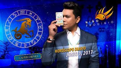 Niño Prodigio - Capricornio 1 de junio 2017