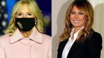 ¿Cuánto gastó en ropa Melania Trump para ir a votar? Analizamos la moda electoral de la primera dama vs. Jill Biden