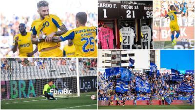 En fotos: ¡cardiaco triunfo del Porto ante el Portimonense!