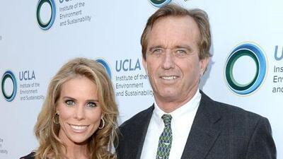 Cheryl Hines se casó con Robert Kennedy Jr.